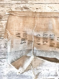 One question I get more than anything is about this burlap sack curtain. It was one of the easiest DIY projects I have ever done, so I thought I would share with you how to make them. My favorite part about this project is that it only took about 20 minutes to make. Score! That's …