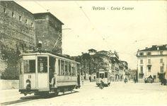 Verona - Corso Cavour - 1917 Cartoline de la nostra Verona de 'na olta