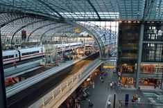 Berlin Central Station HD Wallpaper available in different dimensions Berlin Shopping, Places To Travel, Places To Go, S Bahn, City Wallpaper, Central Station, Metro Station, By Train, Berlin