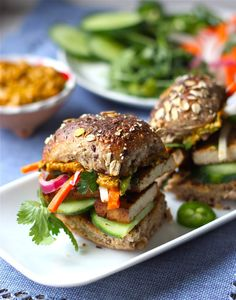 9. Lemongrass Tofu Banh Mi | 16 Vegan Recipes That Are Better Than Bacon