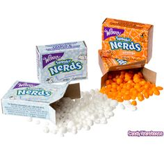 Spooky Nerds Candy Packs: 50-Piece Bag