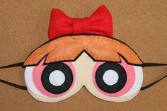 Powerpuff Girls Blossom Sleep Mask / Eye Mask by OmiPop on Etsy
