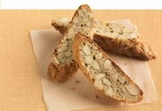 Low cal healthy biscotti recipe. Replace sugar with Splenda and almond liquer with almond extract. 70p+
