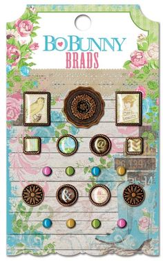 Prairie Chic Brads $2.99