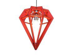 Lámpara Diamante fabricado por Lámparas Buenos Aires