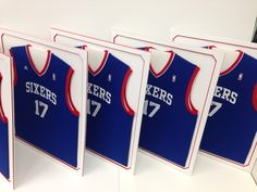 We handle multiple jersey orders for companies and events!