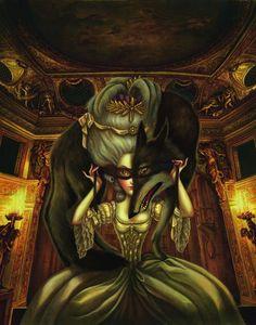 El ilustrador francés Benjamin Lacombe se sumerge en la personalidad de la reina decapitada en un libro ilustrado