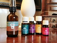 Hair care using essential oils! Detox Your Home Series #oilyfamilies