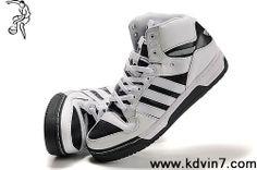 Adidas X Jeremy Scott 3 Tongue Shoes White Black Casual shoes Store