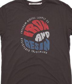 INR Biker Bandit T-Shirt : Iron & Resin