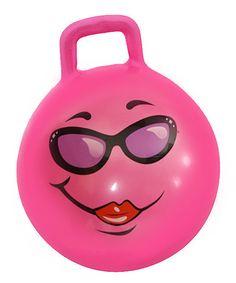 Pink Adult Jumping Ball by Waliki #zulily #zulilyfinds