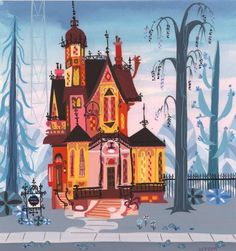 Carol Wyatt's concept artwork for Foster's Home for Imaginary Friends