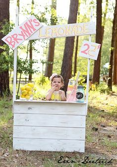 How to build a lemonade stand-Just cahnge to Carley's boutique