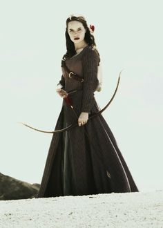 "Susan Pevensie- the one character that got me loving archery before Katniss, don't get me wrong I love Katniss but Susan is the one who really started the whole ""archer woman thing"""