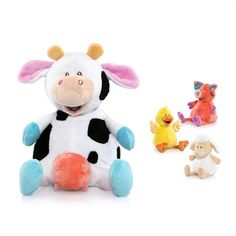 #Nuby Ol' McDonald Singing Plush Toys!!! For an e-i-e-i-ooooooo good time =)