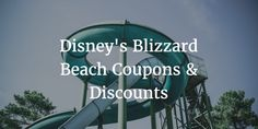 Disney's Blizzard Beach Coupons & Discounts | 2016 | Lake Buena Vista, Florida — The Know and Go: USA Vacation Travel Coupons & Discounts http://www.theknowandgo.com/disneyblizzardbeachcoupons #blizzardbeach #disney #coupons #discounts #vacation #travel