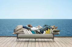 DEDON new 2014 collection  'RAYN' by Philippe Starck