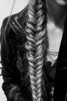 Fishtail braid- I wish I knew how to make this