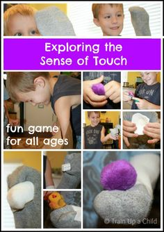 Train Up a Child: 12 Games and Activities to Teach Children about the Five Senses