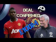 Pogba is DONE! Mourinho finally gets his man to break world record fee w. Uk Football, Football Players, Transfer News, World Records, Got Him, Baseball Cards, Youtube, Soccer Players, Youtubers