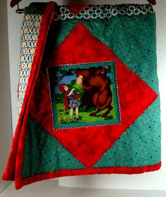 holiday quilt fairy tale quilt Christmas quilt by marylandquilter