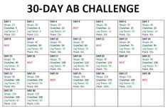 Squat And Ab Challenge, Workout Challenge, Crunch Challenge, Train Hard, 30 Day Abs, I Work Out, Crunches, Get In Shape, Fitness Motivation