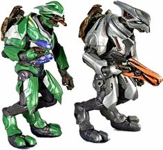 Halo Reach McFarlane Toys Series 3 Action Figure 2-Pack Covenant Airborne [Elite Ultra & Elite Officer] COLLECTOR'S CHOICE!