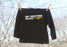 61db9758 Items similar to Big Brother Star Wars Inspired Announcement with  Personalization // Long Sleeve on Etsy