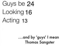 Now he's 27.