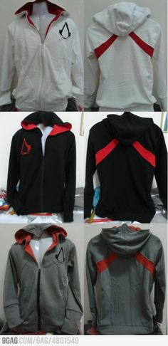I know you want this Assassin's Creed Hoodie...      Yeah, maybe a little