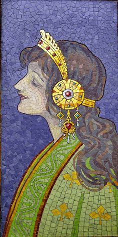 Glass mosaic by Róth Miksa by elinor04, via Flickr