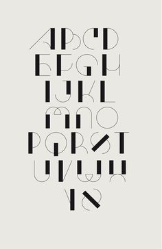 Typography in Communication Design-advertising Hand Lettering Alphabet, Calligraphy Letters, Typography Letters, Typography Poster, Caligraphy, Number Typography, Art Deco Typography, Alphabet Fonts, Typography Layout