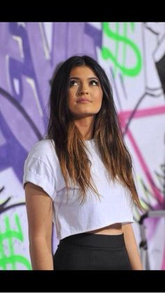 Kylie Jenner, she so gorgeous! I know this an old photo but she is so beautiful!