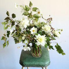 Natural and organic flowers by Amy Merrick: #centerpiece #organic: http://www.amymerrick.com/