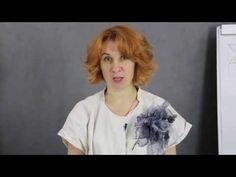 Брошь-цветок из маргиланского шелка - YouTube
