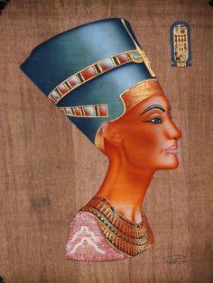 Egyptian Painting -  Queen Nefertiti