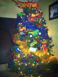 Hot wheels tree