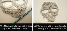 Fear and Loathing with Yella: Crochet Skull Pattern