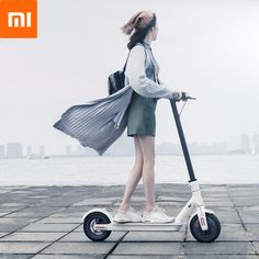 Xiaomi Ultra-light Long Life Folding Electric Scooter Intelligent BMS Double Brake System 25 km/h Max. Load Two Wheels Electric Scooter Electric Skateboard, Electric Bicycle, Electric Scooter, Electric Cars, Scooter Wheels, Kick Scooter, Scooter Parts, Bicycle Disc Brakes, Bicycle Lock