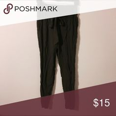Olive joggers Guc! Not f21 Forever 21 Pants Track Pants & Joggers