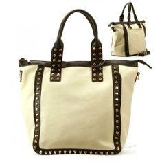 Spikes Purse and Bag / Handbag/ Black/ [Current Not Available] #GraffitiLensHandbag