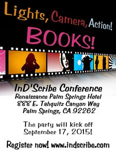 InD'Scribe Author & Reader ConThe author/reader conference of the year. Palm Springs. Register and then help your favorite author dance those dust bunnies off their shoulders that they gather all year writing books! Bring a mask, show your inner Marilyn Monroe, or just hang some bling on your body. We're gonna shake the fronds off the palm trees.