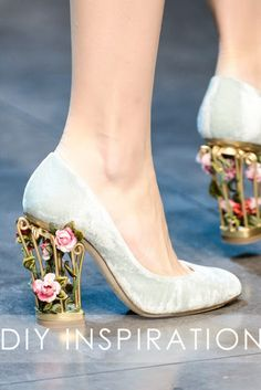 Wow, maybe you should get these to go with your wedding dress!