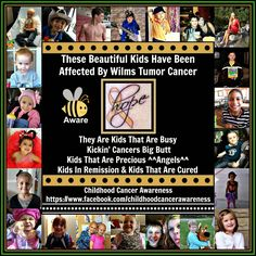 Childhood Cancer Awareness: Wilm's Tumor Awareness