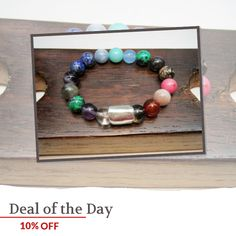 Today Only! 10% OFF this item.  Follow us on Pinterest to be the first to see our exciting Daily Deals. Today's Product: Power Bracelet Power Booster Bracelet All Power Bracelet Potent Bracelet Multi Gemstone Power Booster Bracelet Powerful Gemstone Bracelet Buy now: https://www.etsy.com/listing/398689827?utm_source=Pinterest&utm_medium=Orangetwig_Marketing&utm_campaign=November%20Daily%20Sale   #instajewelry #etsy #etsyseller #etsyshop #etsylove #etsyfinds #etsygifts #musthave #loveit…