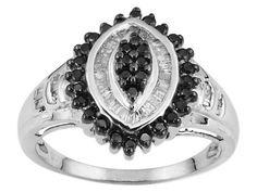 .50ctw Black and White Diamond Ring size 7   http://www.bonanza.com/booths/jewelrywiz  http://www.bonanza.com/listings/-50ctw-Black-and-White-Diamond-Ring-size-7/90224519