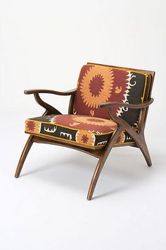 Inge Chair, Vintage Suzani #anthropologie too bad this is 2 g's :(