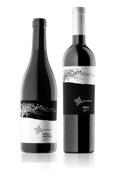 Lovely black and white #wine #packaging PD