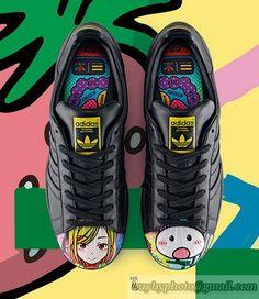 buy popular db1f0 ecab7 Men s and Women s Adidas Originals Superstar Pharrell Black Supershell  Japanese Artist Mr S83358  cheapshoes
