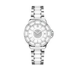 Tag Heuer Formula 1 Women's White Diamond Watch